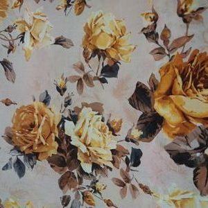 Terlenka Rosas Amarillas sobre Beige