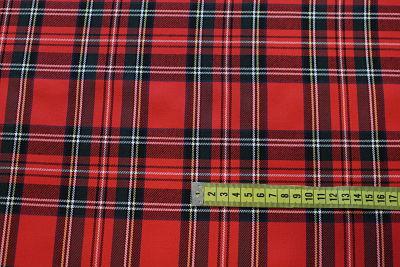 Cuadro Escocés Rojo-Marino-Amarillo