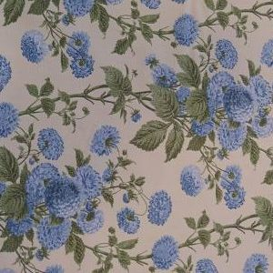 Viella Estampada Dahlia Azules