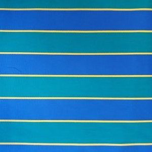 Loneta Toldos Rayas Azul y Amarilla