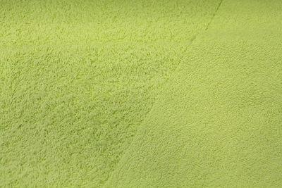 Felpa de Rizo Algodón Verde Pistacho