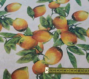 Loneta Estampado Digital Limones