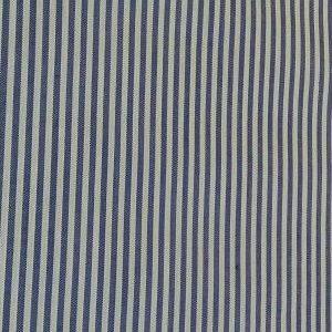 Tela vichy rayas verde azul marino