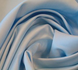 tela Raso de Novia Azul Celeste
