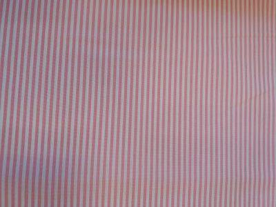 Tela vichy rayas rosa