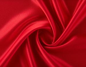 Satén con Lycra Rojo