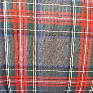 Cuadro Escocés Colorido Rojo-Amarillo-Gris