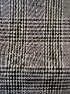 Cuadro Escocés Blanco-Negro