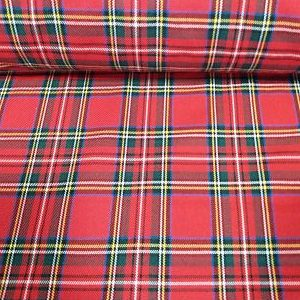 Cuadro Escocés Colorido Rojo-Amarillo-Azul