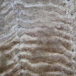 Tela de Pelo Sintético Marrón Claro