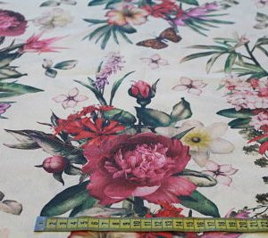 Loneta Estampado Digital Floral