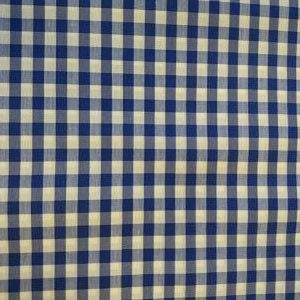 Vichy Cuadros azul Marino