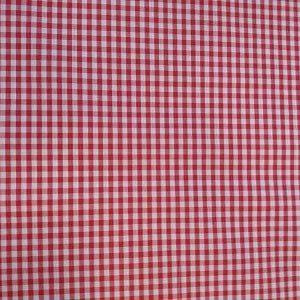 Vichy Cuadros rojo
