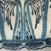 Lentejuela Azul Marino Degradé Espigas