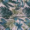 Loneta con hojas de palma