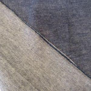 Tela Tejano-Jeans de Algodón en color gris