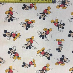 Tela algodón Disney Mickey Mouse