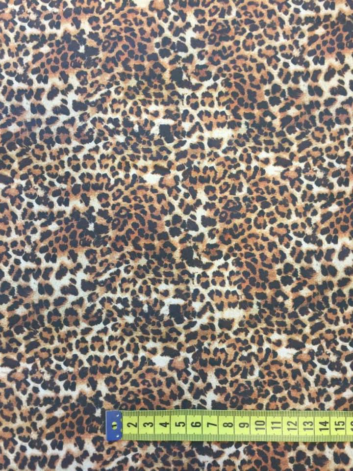 Tela algodón tigre Print art