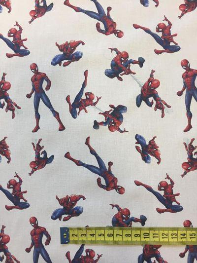 Tela algodón Spider Man