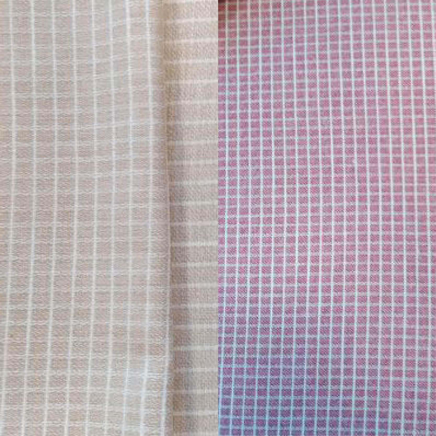 Tela chanel de lana cuadros