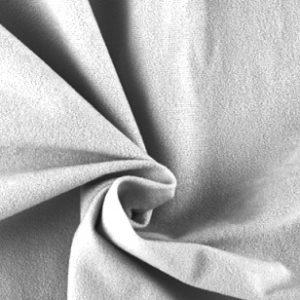 tela antelina blanca