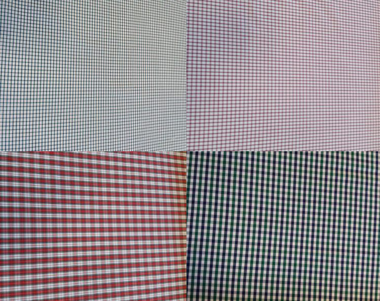 popelín algodón cuadros
