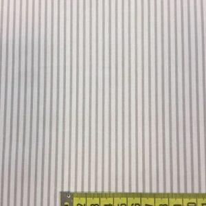 tela pique raya gris