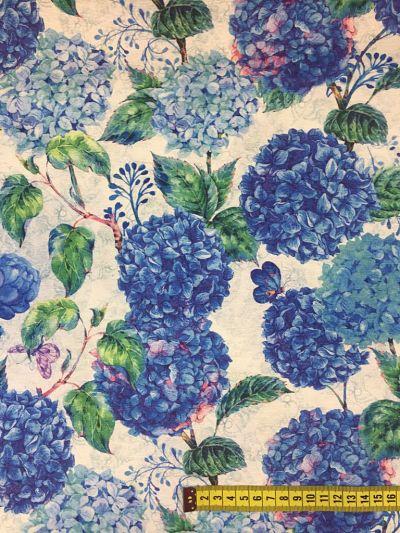 Loneta Hortensia azul