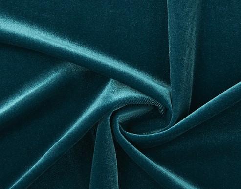 azul petrol terciopelo