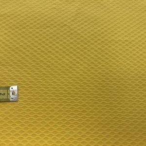 Pique nido de abeja amarillo