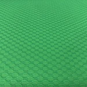 tela nido abeja en verde