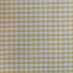 Vichy cuadro Amarillo 5mm