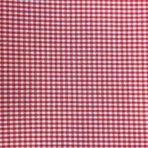 Vichy Rojo cuadros 3mm