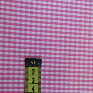 Vichy cuadro rosa 3mm