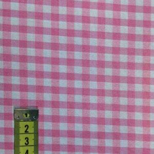Vichy cuadro rosa 5mm