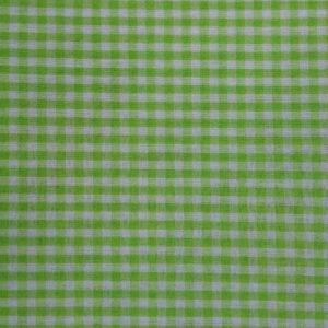Vichy verde pistacho cuadros 3mm