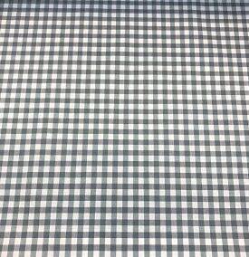 Vichy gris cuadro 6mm