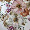 Bielástica flores tonos tierra