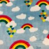 tela con arcoiris