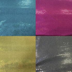 telas con lentejueles en varios colores